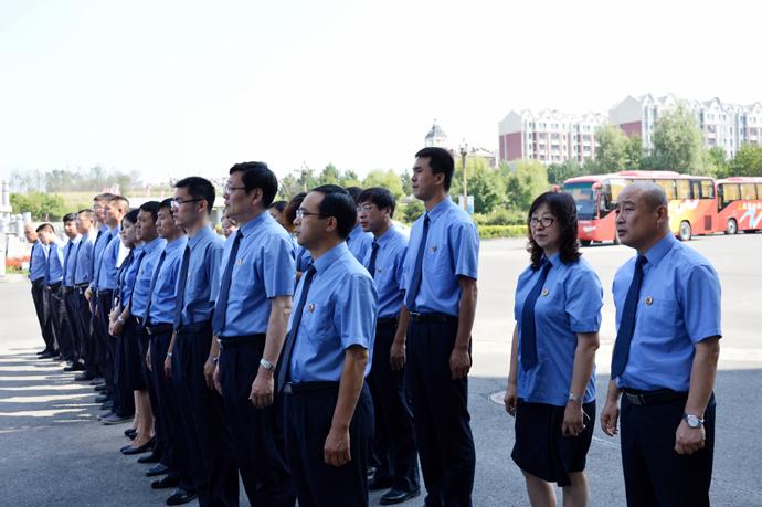 净月区检察院干警到长春市反腐倡图片